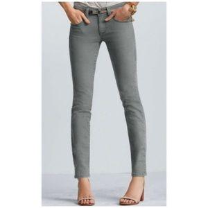 Cabi Bree Grey Jean, Size 0